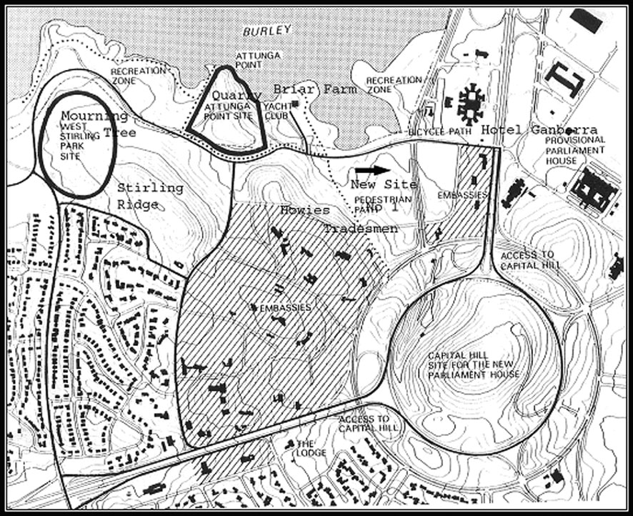 Proposed sites for Prime Minister's Lodge